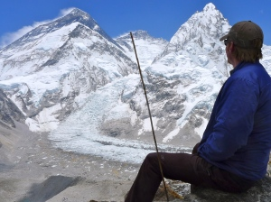 Contemplating Everest