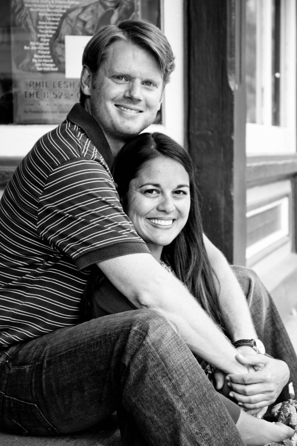 The beautiful bride-to-be and me in Telluride, CO (2012)